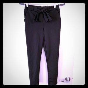 Dress Pants/Trousers with Tie